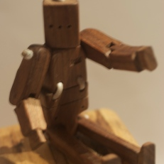 Wooden Robot Toy