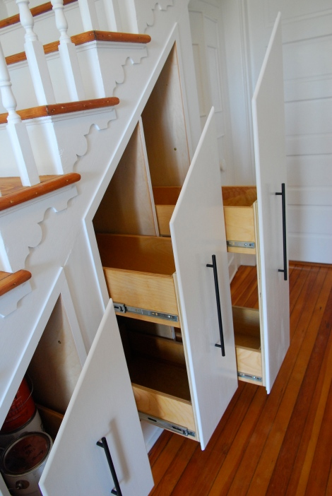 Under-stairs storage
