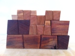 Wood Inka Blocks Stacking Toy