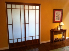 Interior doors- soji screen