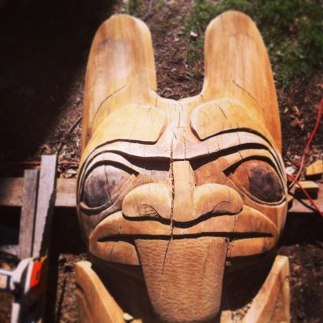 Totem Head + Tongue